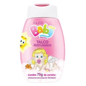 Talco Perfumado Muriel Baby Menina 75gr