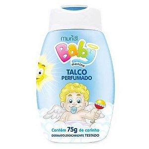Talco Muriel Baby Perfumado Menino 75gr