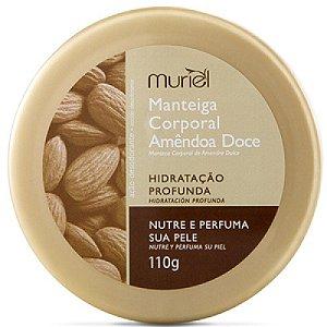 Manteiga Corporal Muriel 110gr Amendoas Doce