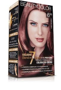 Tintura Beauty Color Kit Nova 6.65 Acaju Sensation