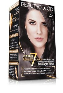 Tintura Beauty Color Kit Nova 4.0 Castanho Natural