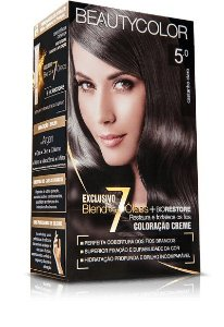 Tintura Beauty Color Kit Nova 5.0 Castanho Claro