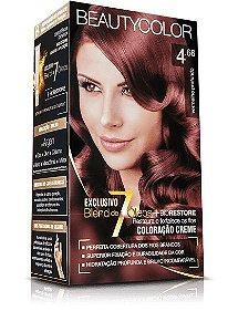Tintura Beauty Color Kit Nova 4.66 Vermelho Profundo