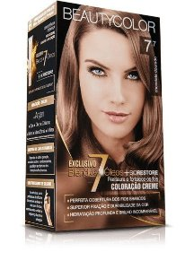 Tintura Beauty Color 7.7 Chocolate Dourado
