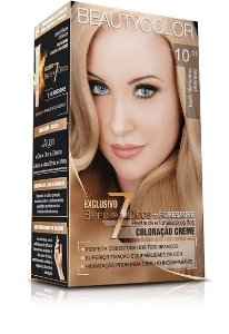 Tintura Beauty Color Kit 10.11 Louro Claríssimo Platinado