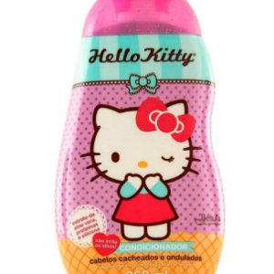 Condicionador Hello Kitty Cabelos Cacheados e Ondulado 260ml