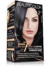 Tintura Beauty Color Kit 2.11 Preto Azulado
