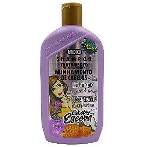 Shampoo Gota Dourada Cabelos com Escova 430ml