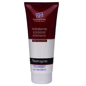 Neutrogena Hidratante Norwegian Corporal 200ml sem perfume