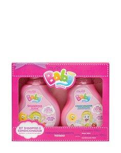 Kit Muriel Baby Menina Shampoo 100ml+Condicionador 100ml