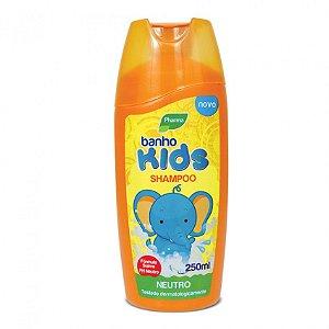 Shampoo Pharma Banho Kids 250ml Neutro