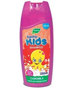Shampoo Pharma Banho Kids 250ml Camomila