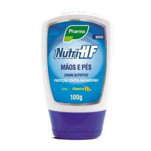 Creme Nutri HF para Mãos e  Pés Pharma 100g