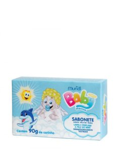 Sabonete Muriel Baby Menino 90G