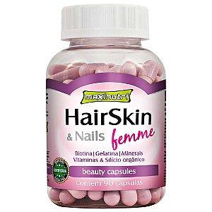 HairSkin Femme (cápsula Da Beleza)  90 cps Maxinutri