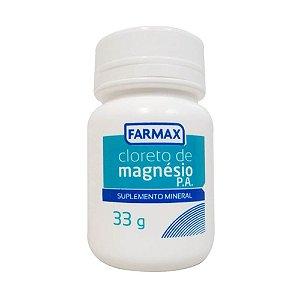 Cloreto de Magnésio em pó 33g Farmax