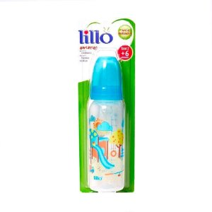 Mamadeira Lillo Divertida Azul 240mL Ref.: 614121