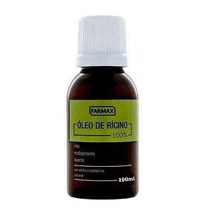 Óleo de Ricino Farmax 100ml