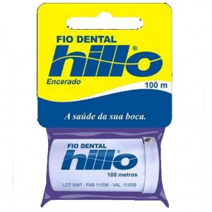 Fio Dental Hillo Encerado 100ml