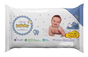 Isababy Toalha Umedecida Leve100 Pague 90 unidades