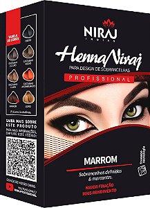 Niraj Henna para Sombrancelha Marron
