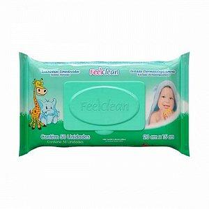 Toalhinha Umedecidas feel Clean c/ 50