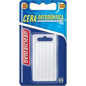 Cera Ortodontica Dentalclean Bastão 5un