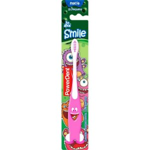 Escova Dental PowerDent Infantil Smile Macia