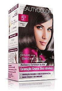 Tintura Beauty Color Sem Amônia 5.0 Castanho Claro