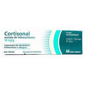 Hidrocortisona - CORTISONA CREME 20GR