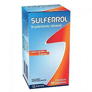 SULFERROL 50 Tabletes - Delta