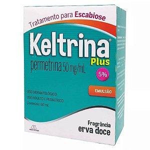 Permetrina 5% Loção 60ml - Keltrina Multilab