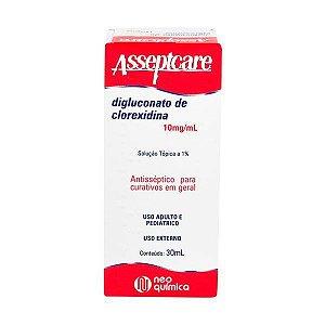 Clorexidina 30ml - ASSEPTCARE - NQ