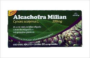 ALCACHOFRA MILIAN 200mg 30CPR - Multilab
