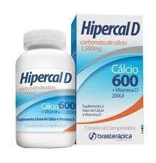 Hipercal D Calcio 600+Vitamina D c/ 60comp.