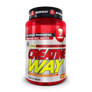 Midway Creatine Way c/ 120 Tabletes