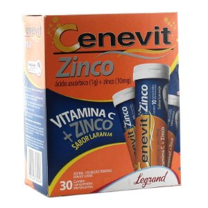 Vitamina C Zinco 30cpr- CENEVIT