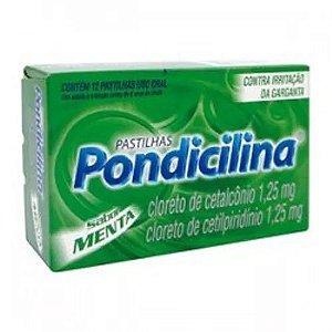PONDICILINA MENTA 12 PASTILHAS
