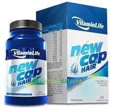 New Cap Hair - 60 Comprimidos - Vitaminlife