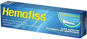 HIDRO+LIDO+OXIDO ZN+ BISMUTO - HEMOFISS PDA 30G CIMED