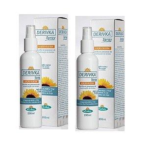 Derivka Loção Oleosa 200ml (kit com 02)
