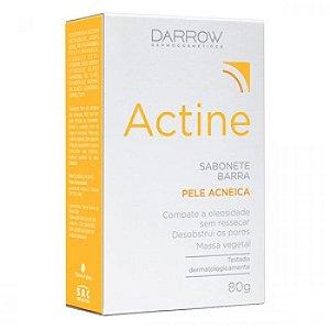 Actine Sabonete Barra Pele Acneica 80g