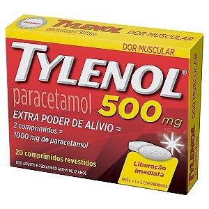 TYLENOL 500MG 20CPR