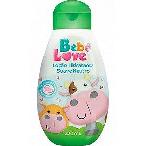 Loção Hidratante Bebe Love Suave Neutro 220ml