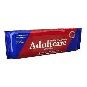 Toalha Umedecida AdultCare Premium 40un