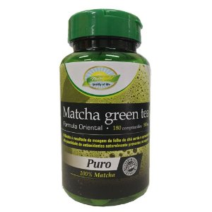 Matcha Green Tea 180 comprimidos de 800mg