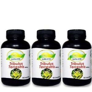 KIT 3X  - TRIBULUS TERRESTRIS NUTRIGOLD 180cpr