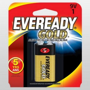 Bateria Eveready Gold Alcalina 9v-1