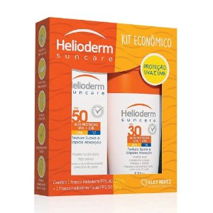 Kit Helioderm Corporal FPS 30 120ml+ Facial FPS 50 50g