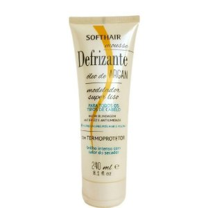 SoftHair Defrizante Mousse 240mL Óleo de Argan
